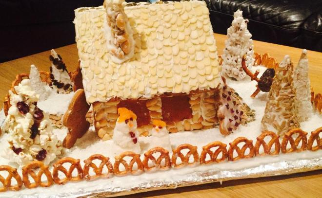 Candy Free Gingerbread House