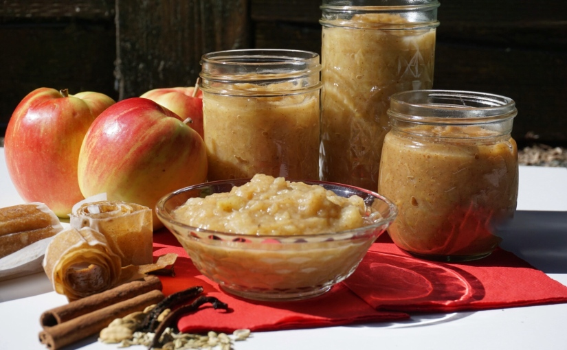 Chai Applesauce, Apple Butter and Apple Leather