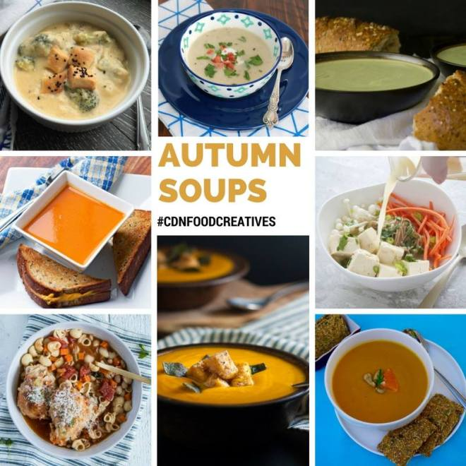 Autumn Soups #CDNFOODCREATIVES