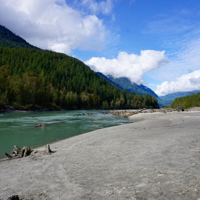 Squamish River, British Columbia